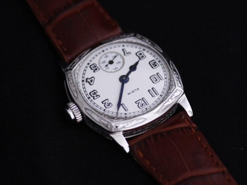 エルジンのアンティーク腕時計-W1399-10