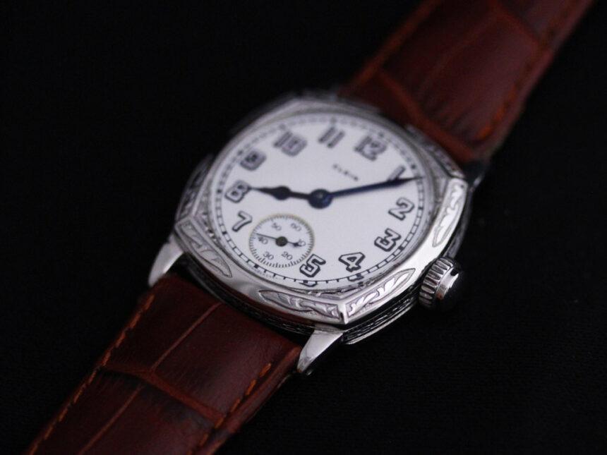 エルジンのアンティーク腕時計-W1399-11