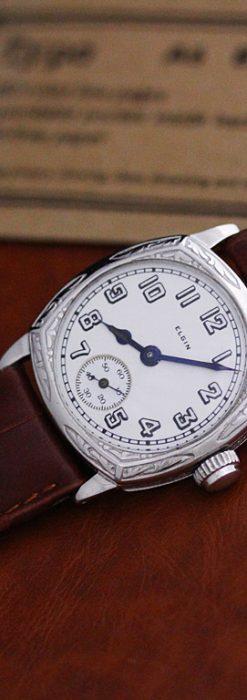 エルジンのアンティーク腕時計-W1399-12