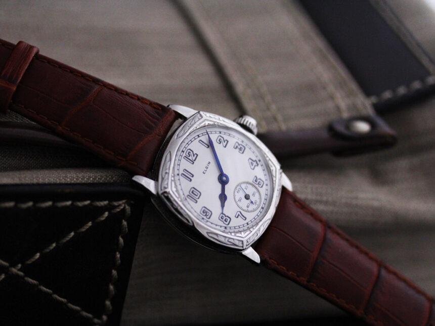 エルジンのアンティーク腕時計-W1399-2