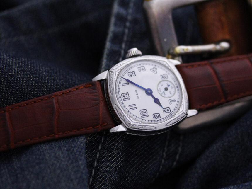 エルジンのアンティーク腕時計-W1399-3