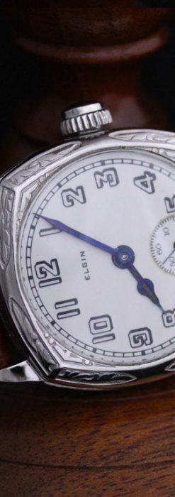 エルジンのアンティーク腕時計-W1399-6