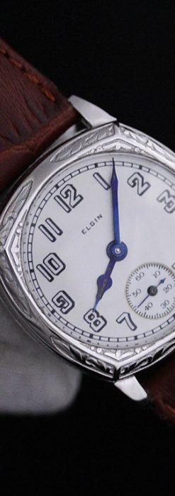 エルジンのアンティーク腕時計-W1399-8