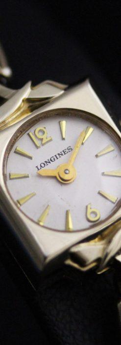 ロンジンの女性用アンティーク腕時計-W1400-1