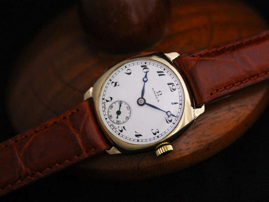 オメガのアンティーク腕時計-W1401-10