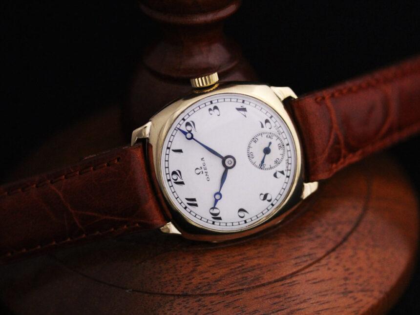 オメガのアンティーク腕時計-W1401-11