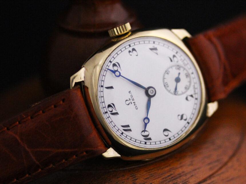 オメガのアンティーク腕時計-W1401-12