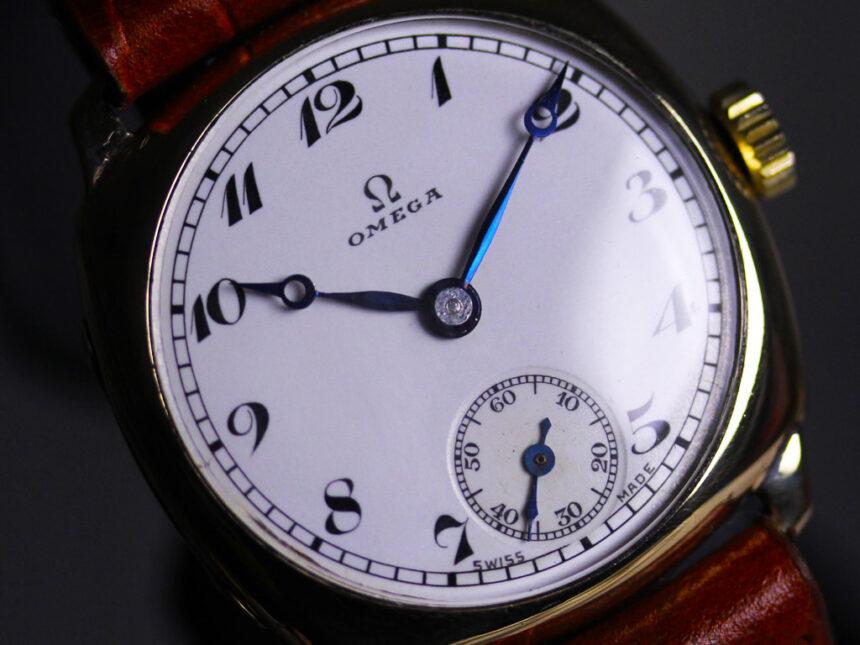 オメガのアンティーク腕時計-W1401-14