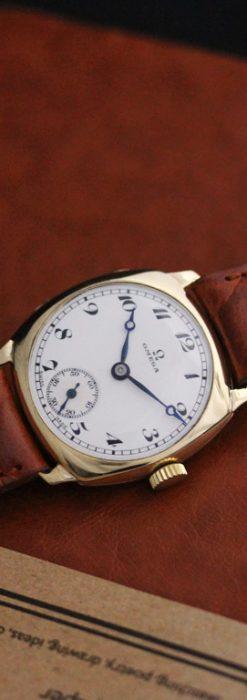 オメガのアンティーク腕時計-W1401-15
