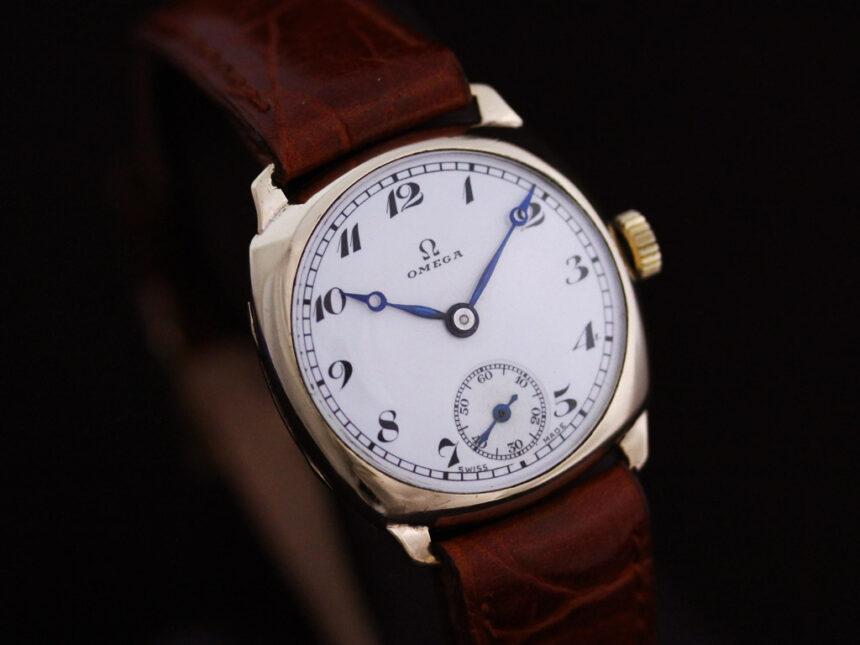 オメガのアンティーク腕時計-W1401-16