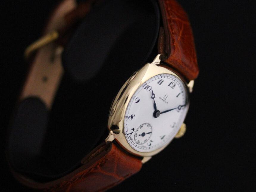 オメガのアンティーク腕時計-W1401-17