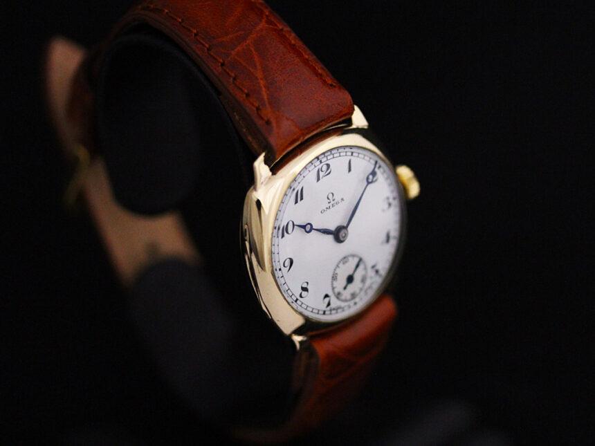 オメガのアンティーク腕時計-W1401-18