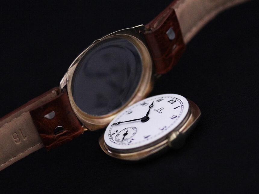 オメガのアンティーク腕時計-W1401-24