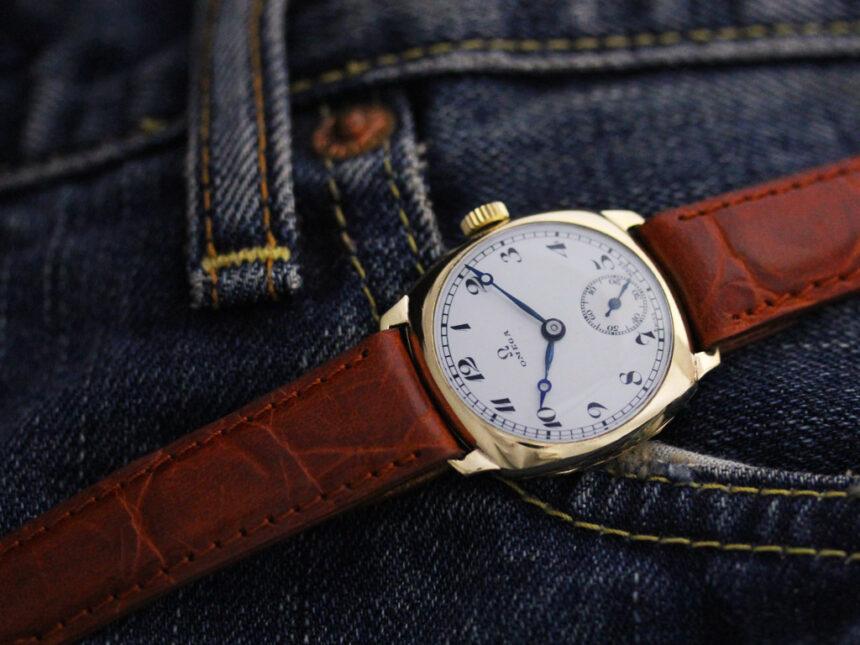 オメガのアンティーク腕時計-W1401-3