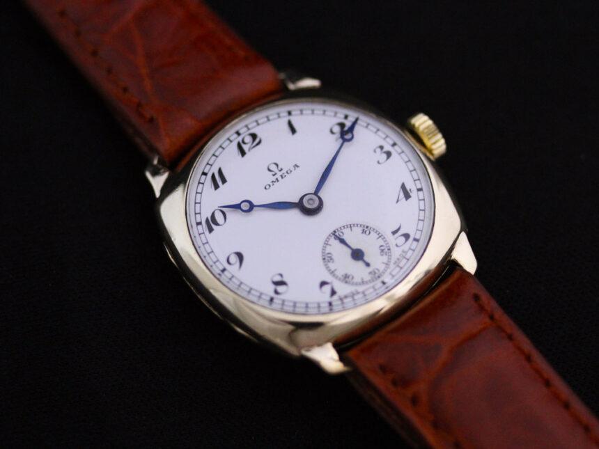 オメガのアンティーク腕時計-W1401-7
