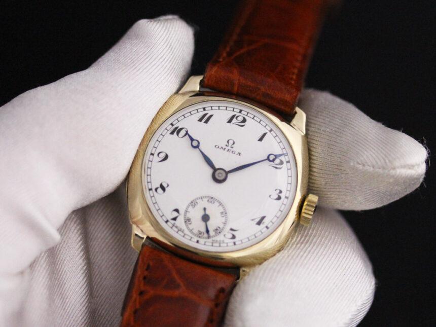 オメガのアンティーク腕時計-W1401-9