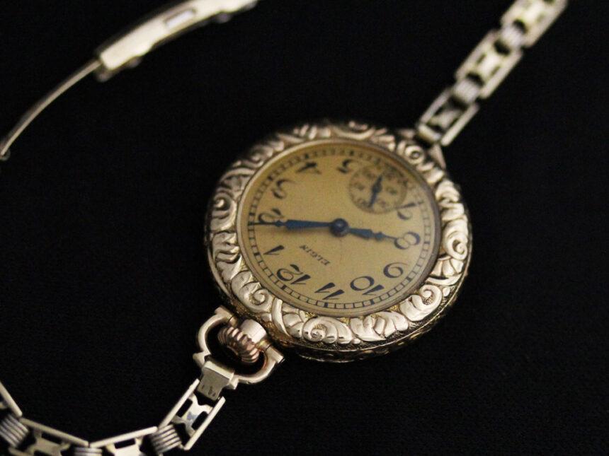エルジンのアンティーク腕時計-W1402-10