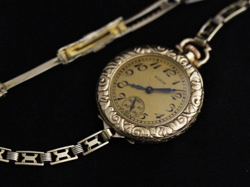 エルジンのアンティーク腕時計-W1402-11