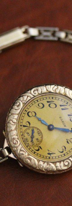 エルジンのアンティーク腕時計-W1402-13