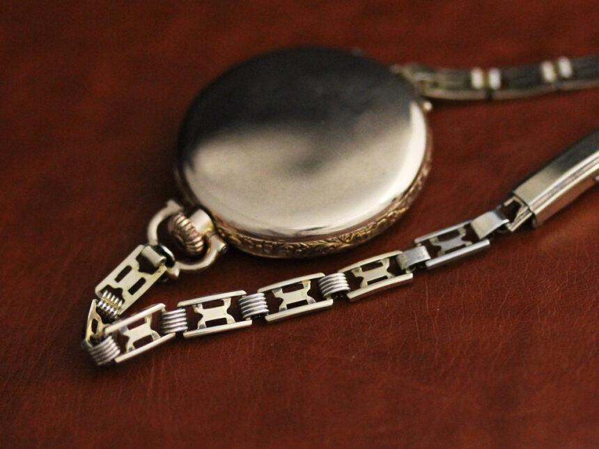 エルジンのアンティーク腕時計-W1402-14