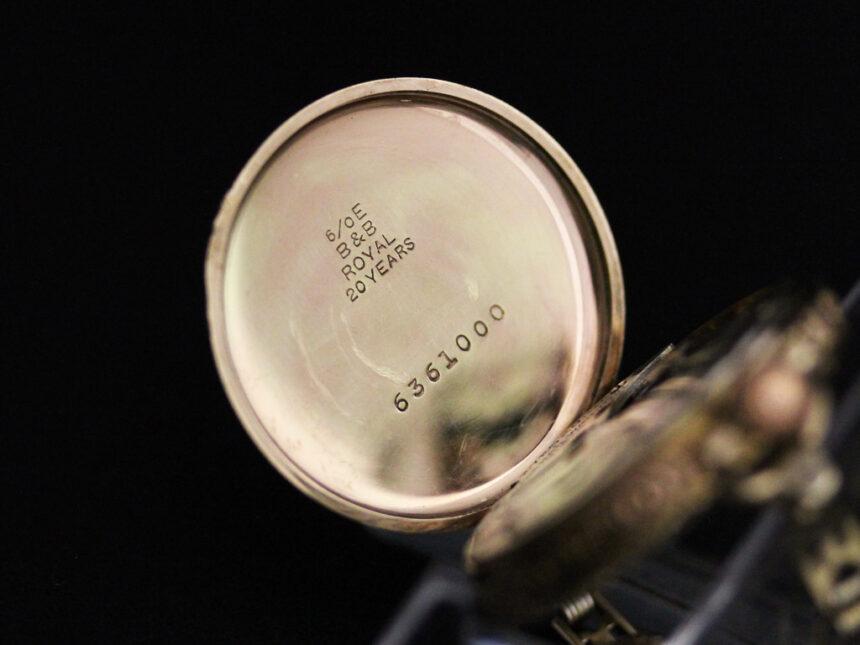 エルジンのアンティーク腕時計-W1402-17