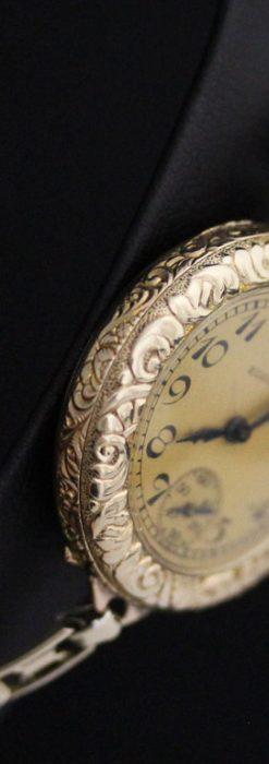 エルジンのアンティーク腕時計-W1402-4