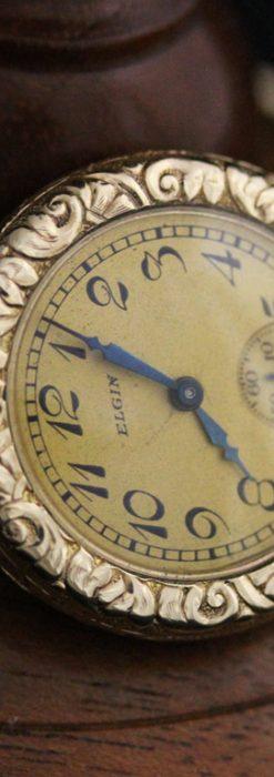エルジンのアンティーク腕時計-W1402-6