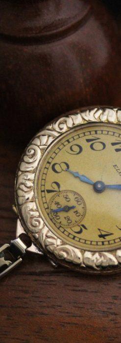 エルジンのアンティーク腕時計-W1402-7