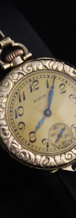 エルジンのアンティーク腕時計-W1402-8