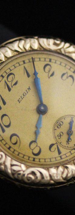 エルジンのアンティーク腕時計-W1402-9