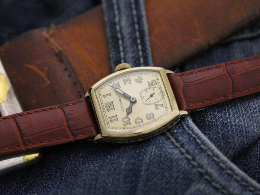 ロンジンのアンティーク腕時計-W1403-1