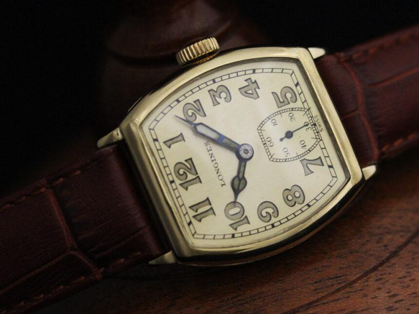 ロンジンのアンティーク腕時計-W1403-11