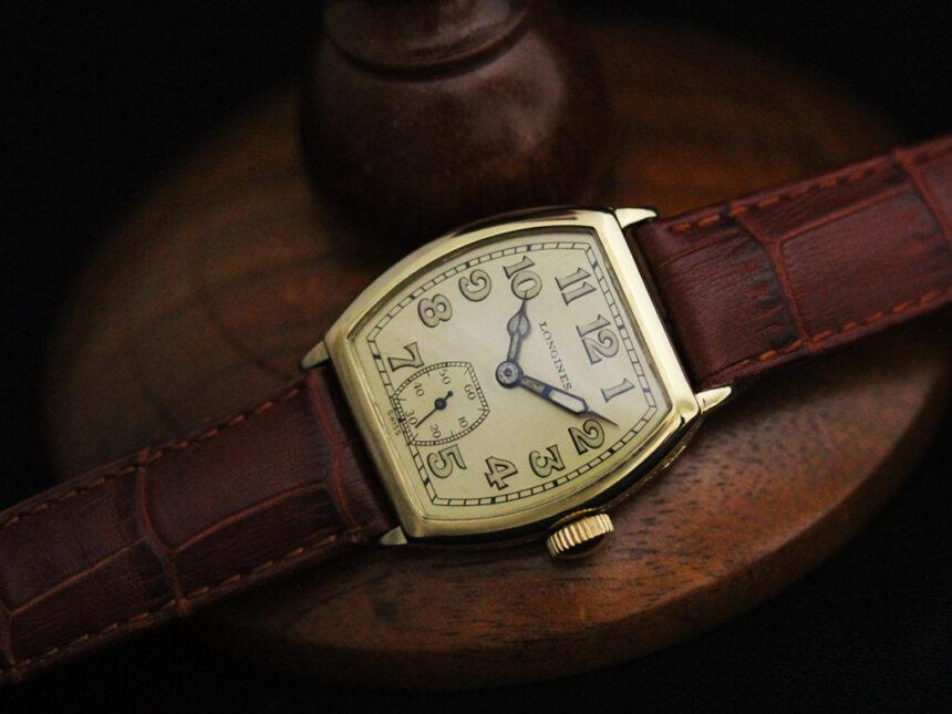 ロンジンのアンティーク腕時計-W1403-13