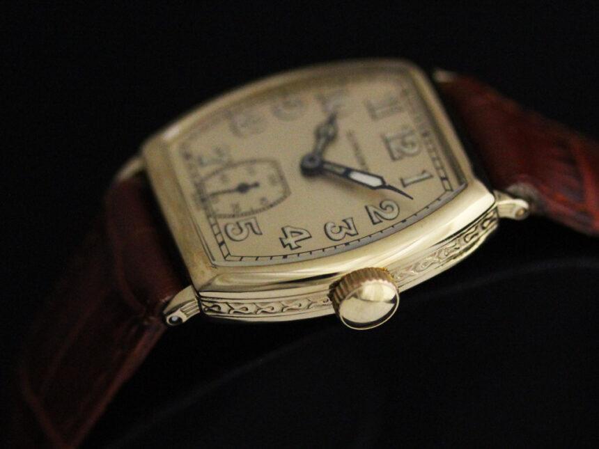 ロンジンのアンティーク腕時計-W1403-19