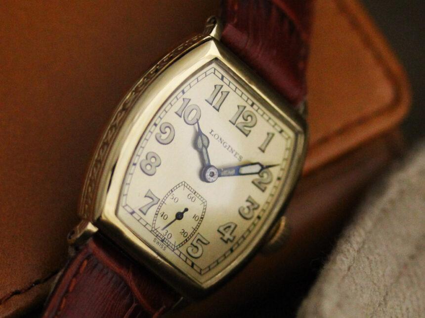 ロンジンのアンティーク腕時計-W1403-6