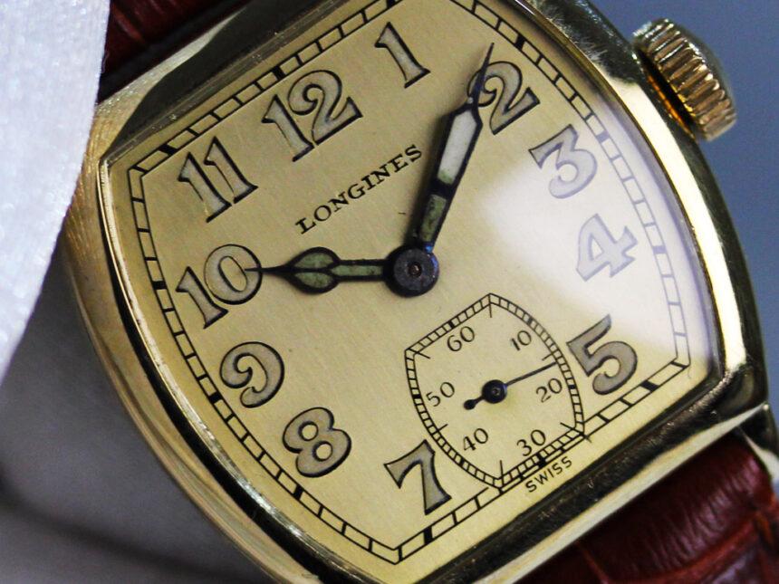 ロンジンのアンティーク腕時計-W1403-7