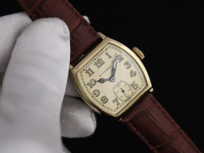 ロンジンのアンティーク腕時計-W1403-8