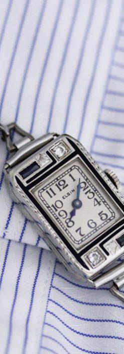 エルジンのアンティーク腕時計-W1404-1