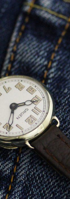 グリュエンのアンティーク腕時計-W1405-1