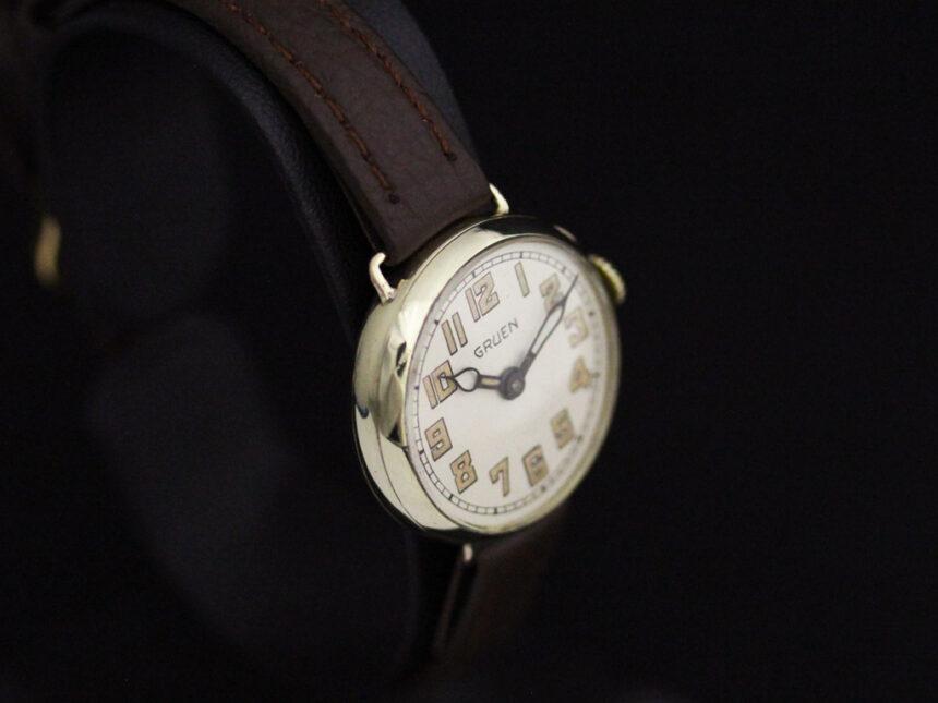 グリュエンのアンティーク腕時計-W1405-11