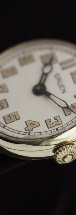 グリュエンのアンティーク腕時計-W1405-12