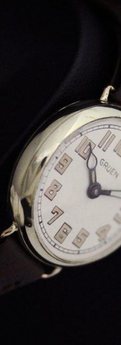 グリュエンのアンティーク腕時計-W1405-13