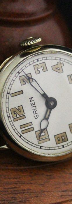 グリュエンのアンティーク腕時計-W1405-4