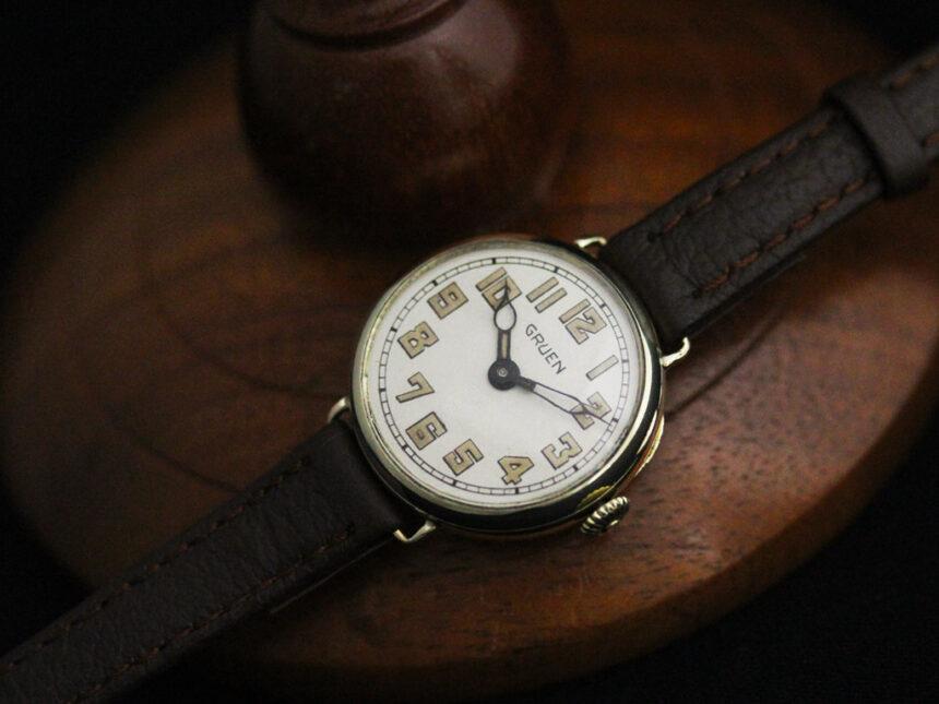 グリュエンのアンティーク腕時計-W1405-5