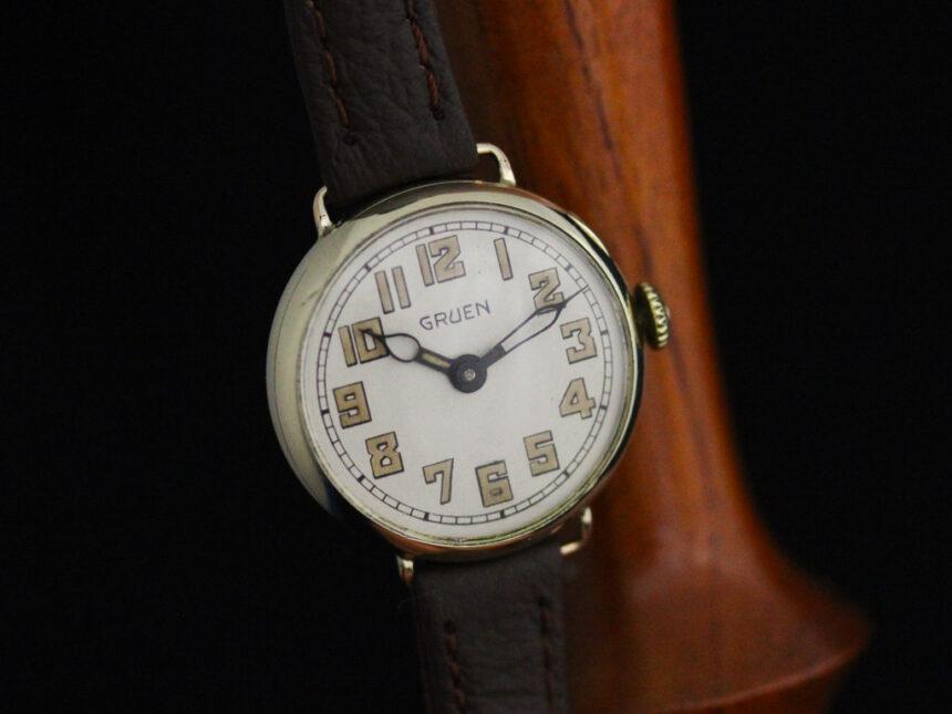 グリュエンのアンティーク腕時計-W1405-6