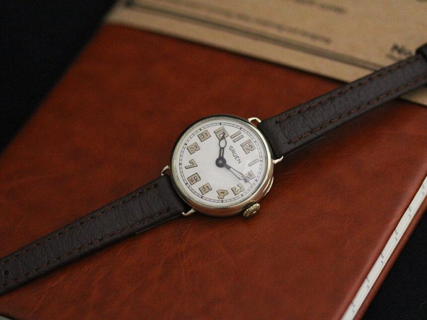 グリュエンのアンティーク腕時計-W1405-9