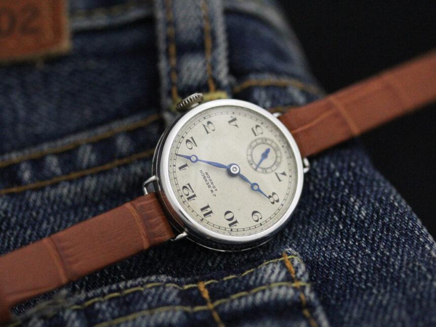 ベンソンのアンティーク腕時計-W1409-1