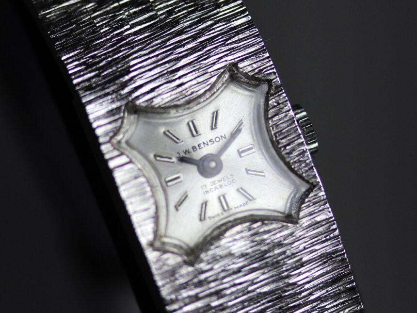 ベンソンのアンティーク腕時計-W1410-14