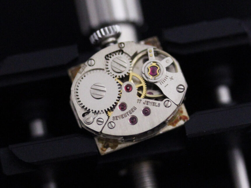 ベンソンのアンティーク腕時計-W1410-17