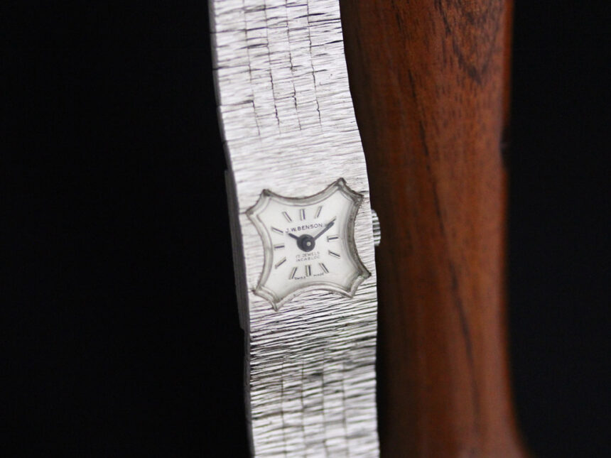 ベンソンのアンティーク腕時計-W1410-7
